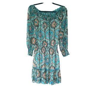 Xhilaration off/on shoulder dress